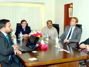 Visit of German Ambassador to DEC